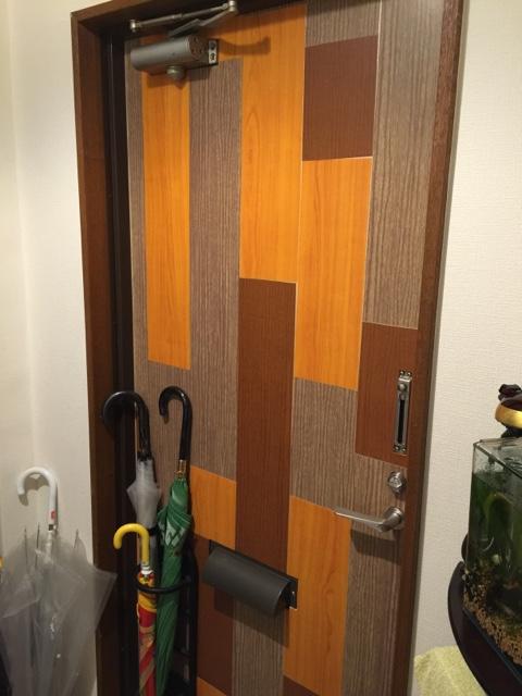 玄関の断熱 自作